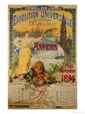 Exposition Universalle  Anvers  1894