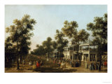 View of the Grand Walk  Vauxhall Gardens