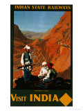 Visit India  Indian State Railways  circa 1930
