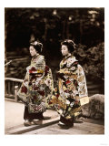 Japanese Costumes  1880s