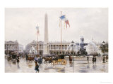 A View of the Place de la Concorde  Paris
