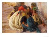 Arab Children Playing