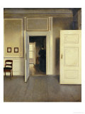 A Woman in an Interior, Strandgade 30, 1901 Giclée par Vilhelm Hammershoi