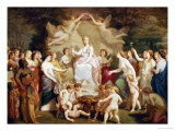 An Allegory of Spring  1871