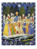 A Pichhavai of Krishna as Shrinthji  India  19th Century