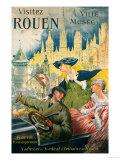 Visitez Rouen  circa 1910