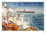 Cie Gle Transatlantique  circa 1910