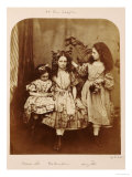 Irene Macdonald  Flo Rankin and Mary Macdonald at Elm Lodge  Hampstead  July 1863