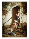 The Cottage Steps  1861