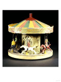 A Rare Model Fairground Carousel Britains  1930s