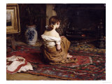 By the Fireside  1878