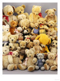 A Large Selection of Teddy Bears