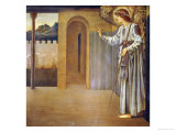 The Annunciation  Dated 1893