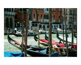 Gondolas Near Rialto