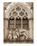Arched Window with Lion of Venice