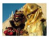 Golden Couple at Carnivale