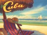 Escape to Cuba Reproduction d'art par Kerne Erickson
