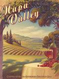 Napa Valley Reproduction d'art par Kerne Erickson
