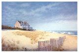 Maison en bord de plage Reproduction d'art par Daniel Pollera