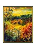 Autumn Landscape Albole