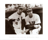 Ted Williams and Joe DiMaggio  1951