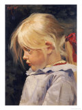 Portrait of Ingeborg Treschow  Aged Three