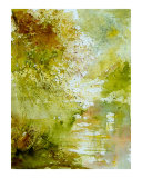 Watercolor Landscape  211005