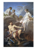 Venus Requesting Arms for Aeneas from Vulcan