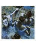 Danseuses bleues Giclée par Edgar Degas