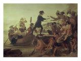Landing of Roger Williams  1636