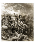 Richard I and Saladin in Battle of Acre  1191