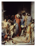 Christ Driving the Money Changers Out of Temple