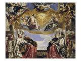 Gonzaga Family in Adoration of the Holy Trinity