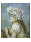 Young Girl in a Lace Hat