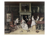 Fantasy Interior with the Family of Jan Van Goyen