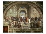 L'école d'Athènes Giclée par Raphael