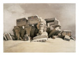 Ruins of the Temple of Kom-Ombo  Upper Egypt