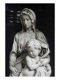 Bruges Madonna  Detail