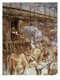 Animals Enter the Ark
