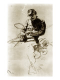 Sketch of a Cavalry Soldier (Civil War)