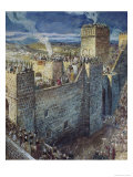 The Procession on the Walls of Jerusalem