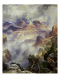 Canyon Mists: Zoroaster Peak  Grand Canyon