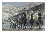 The Wise Men Journeying to Bethelhem