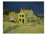 The Yellow House at Arles  c1889