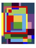 Abstract No.7 Reproduction d'art par Diana Ong