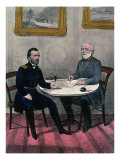 Surrender of General Lee  at Appomattox Court