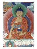 Tiger's Den  Detail of Buddha