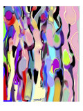 Abstract Female Forms Giclée par Diana Ong