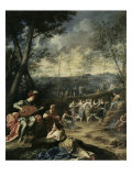 Dance of the Nymphs  circa 1724