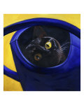Cat in the Watering Can (Chat a L&#39;Arrosoir)